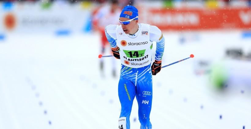 Кузбасский лыжник стал четвёртым вгонке на15 километров начемпионате мира