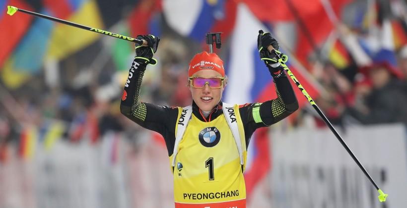 Внорвежском Холменколлене проходит завершающий этап Кубка мира побиатлону