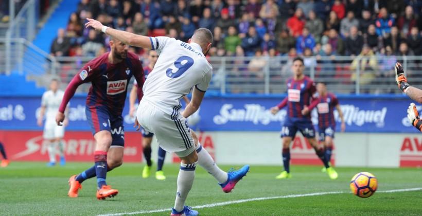 Реал Мадрид добыл крупную победу в Эйбаре