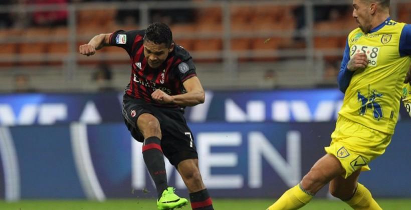 Милан не без трудностей одолел Кьево