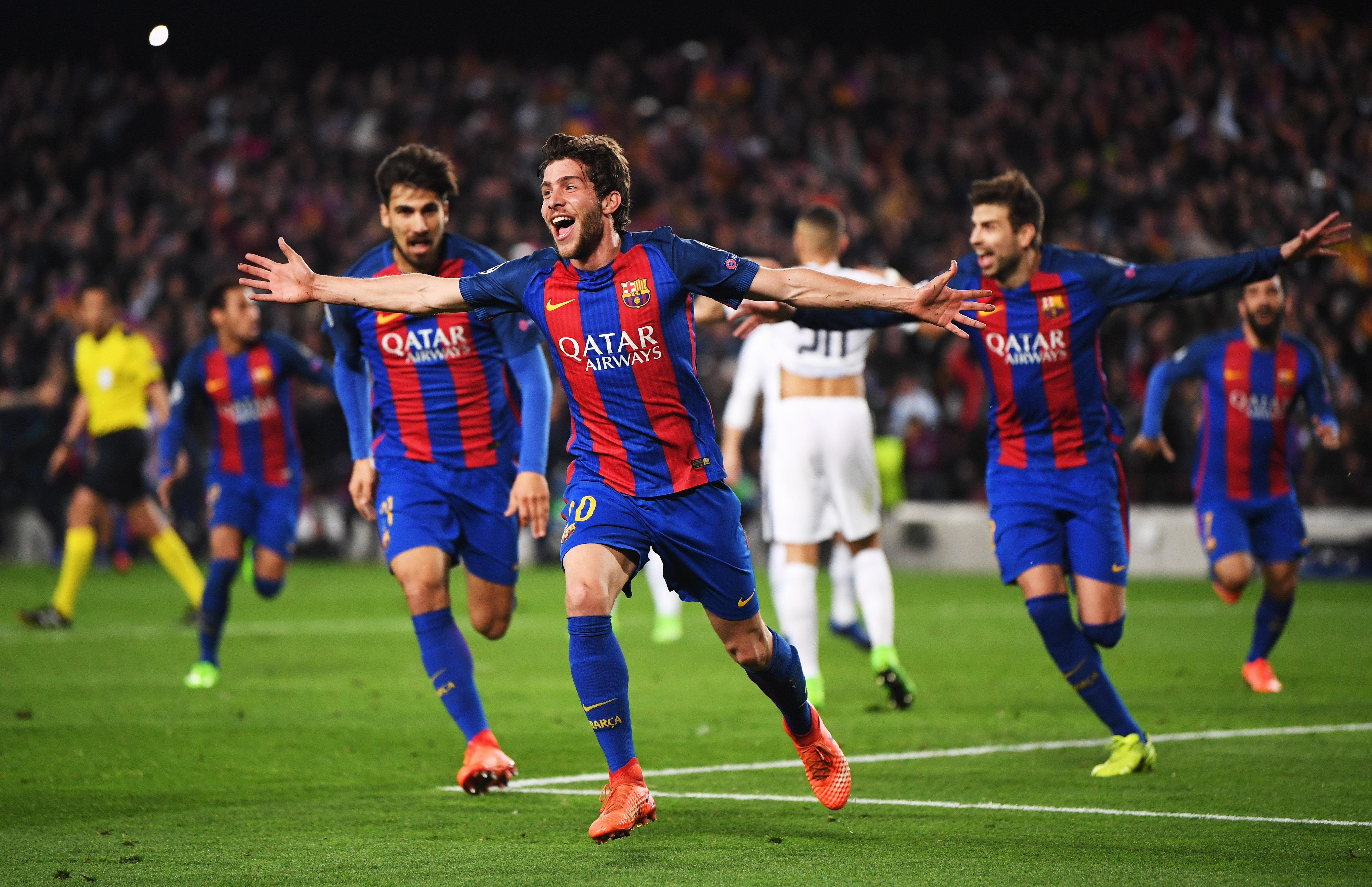 Барселона псж лига чемпионов 2017 матч