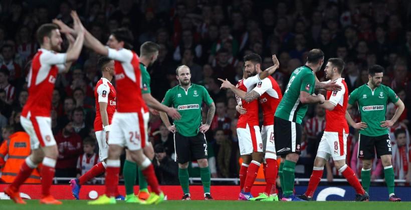 Арсенал не заметил Линкольн