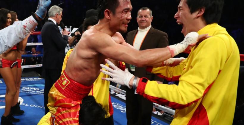 Боксер Вангек победил Гонсалеса изавоевал титул WBC вовтором наилегчайшем весе