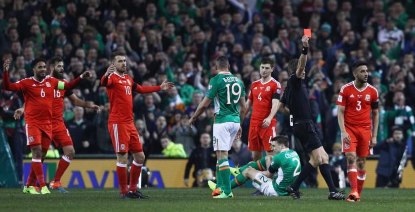 Капитан сборной Ирландии получил шокирующую травму вматче против Уэльса
