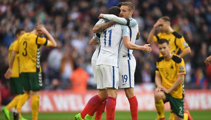 Дефо впервый раз забил после возвращения всборную Британии