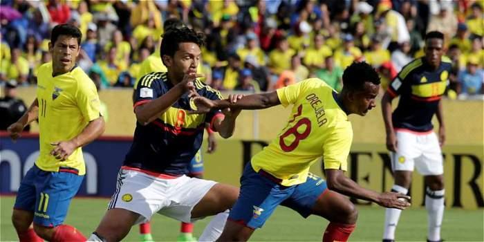 Колумбия в Кито переиграла Эквадор