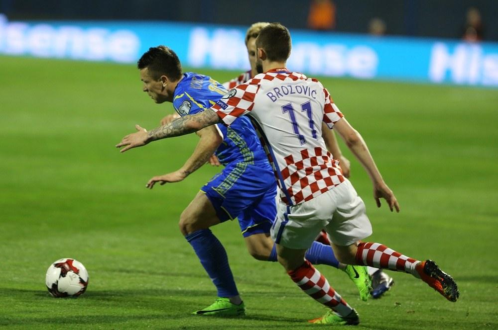 Футбол хорватия украина 24 03 2017