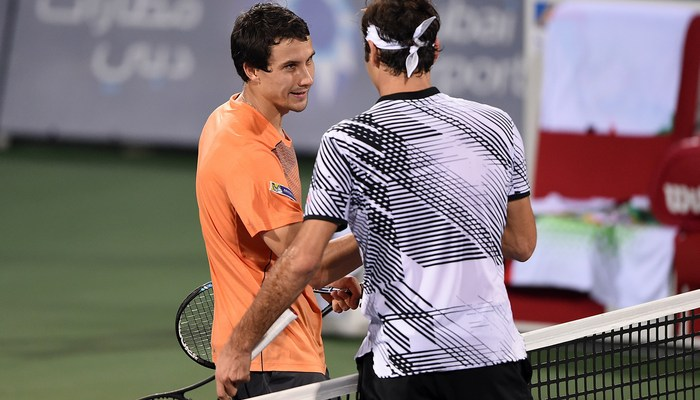 Донской обыграл Федерера вОАЭ, вырвав победу натай-брейке