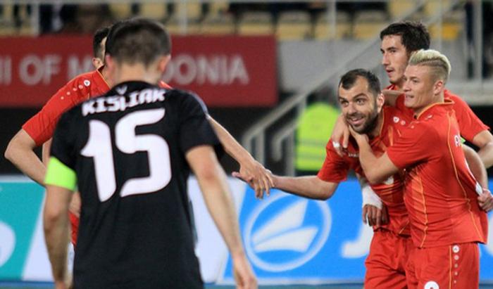 Футболисты сборной Республики Беларусь уступили Македонии втоварищеском матче