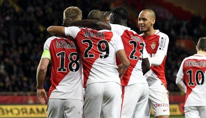 Монако легко разгромил Нант и удержал лидерство