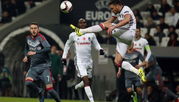 Бешикташ выбил из Лиги Европы Олимпиакос