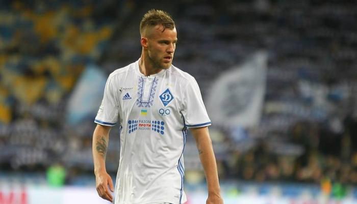 Динамо Киев продаст Ярмоленко Роме за 17 млн евро