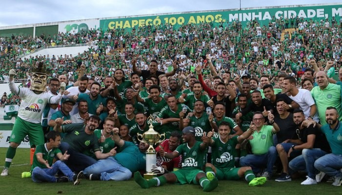 Шапекоэнсе одержал победу 1-ый трофей после авиакатастрофы