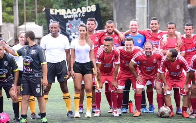 ВБразилии девушка-судья отсудила матч в влажной  майке без нижнего белья