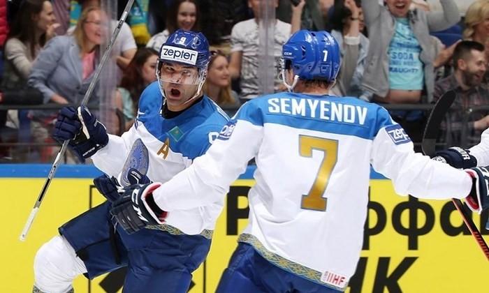 Сборная Казахстана начинает выступление начемпионате мира спобеды над Австрией