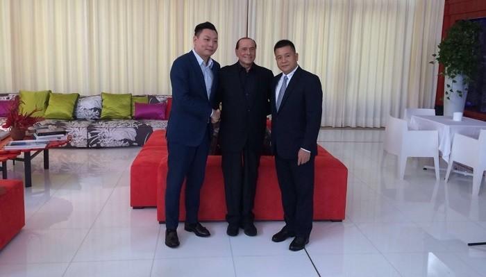 Берлускони реализовал «Милан» китайским инвесторам