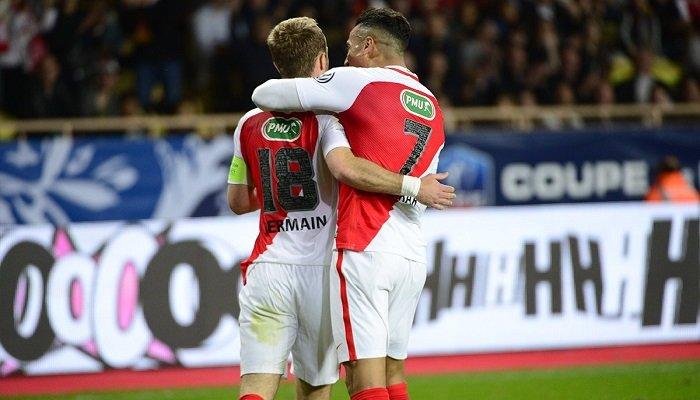 «Монако» победил «Лилль» ивышел вполуфинал Кубка Франции