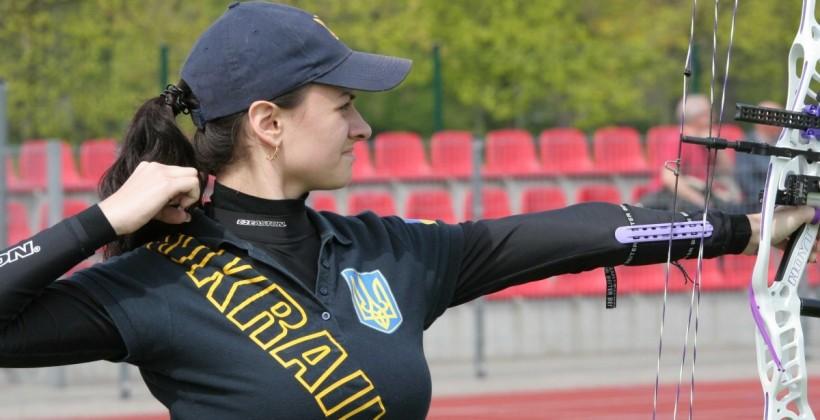 Женская сборная Украины пострельбе излука завоевала золото Кубка Европы