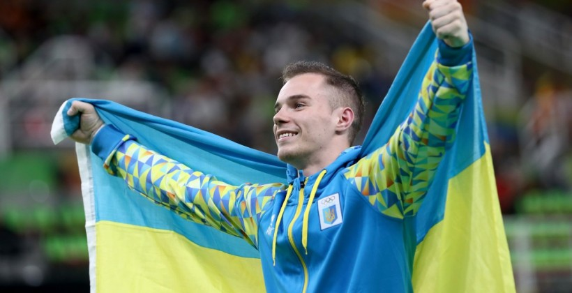 Олег Верняев стал лучшим гимнастом Европы
