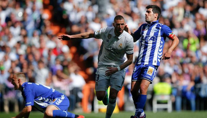 «Реал» поражает ворота соперников в50 матчах кряду