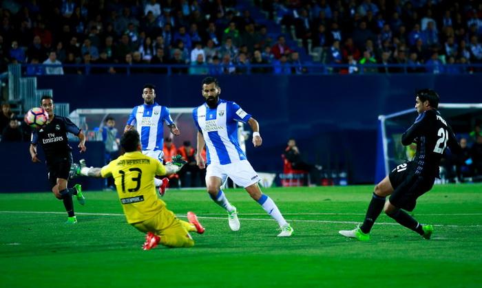 Реал Мадрид уверенно обыграл Леганес на выезде