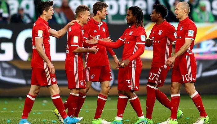 «Бавария» празднует пятый подряд титул чемпиона Германии