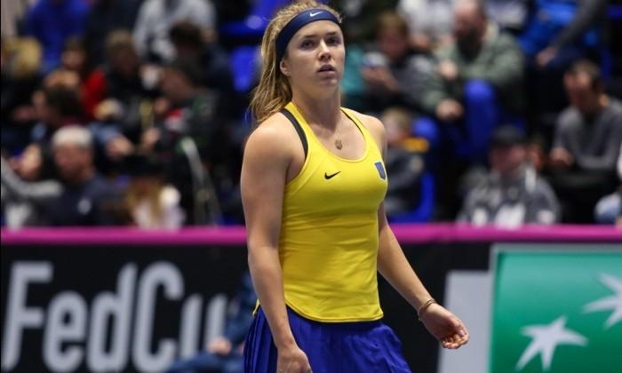 Свитолина проиграла Гёргес в первом матче плей-офф Мировой группы