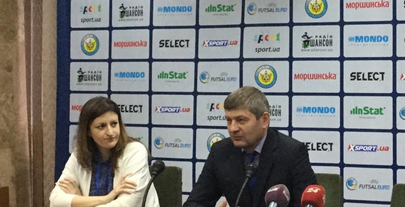 Сборная Украины пофутзалу обыграла Бельгию вотборе наЕвро