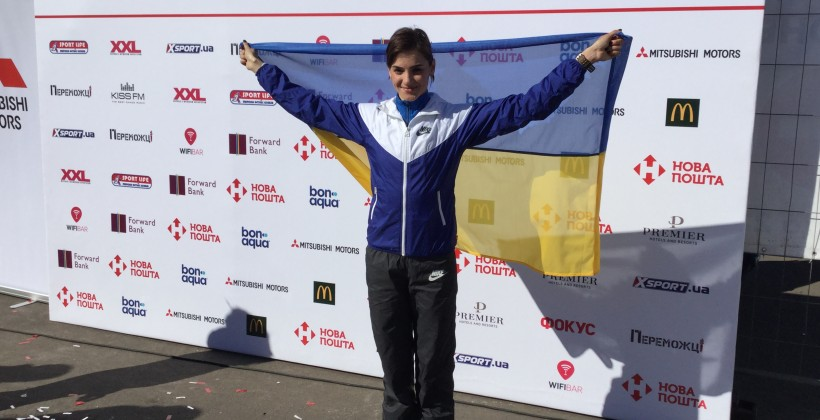Яремчук заняла второе место на соревнованиях по бегу в Италии