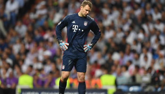 Вратарь «Баварии» Нойер сломал ногу вматче с«Реалом»