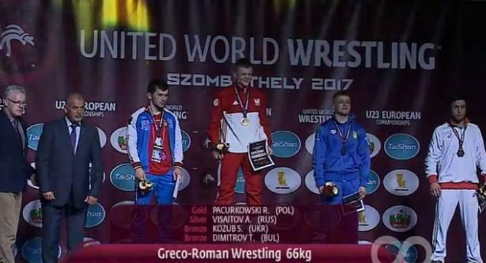 Днепровский борец стал бронзовым призером Чемпионата Европы