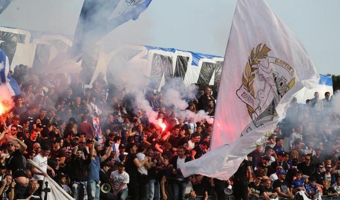 Болельщики Бастии сорвали матч Лиги 1 против Лиона
