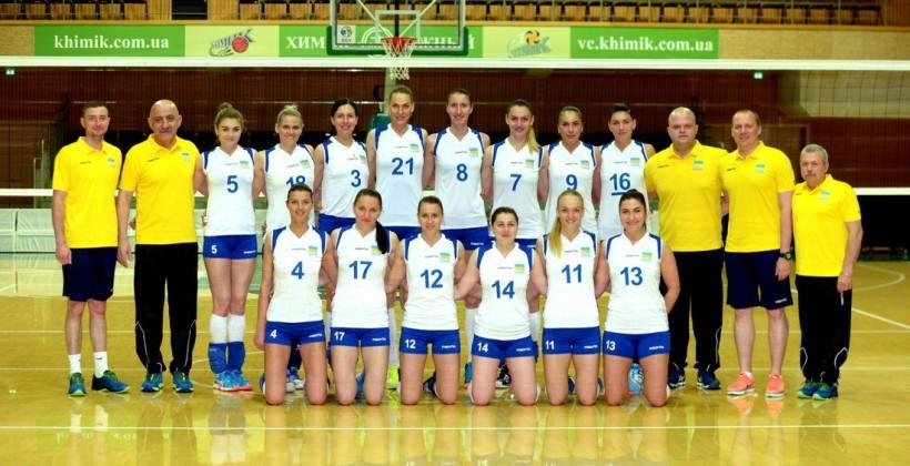 Сборная Украины добыла вторую победу вотборе наЧМ поволейболу