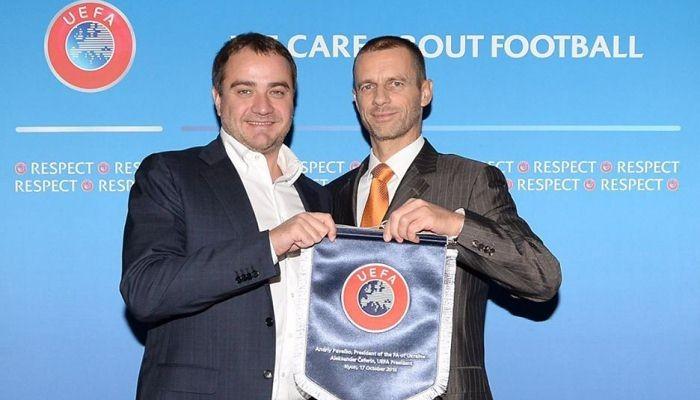 Андрею Павелко предлагают высокую должность вФИФА