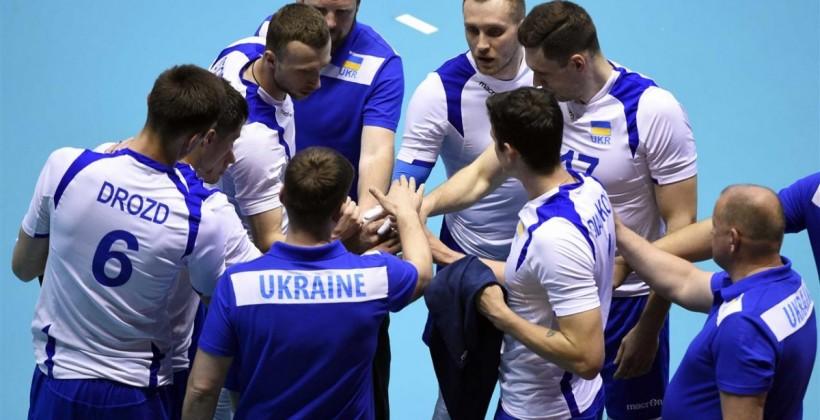 Сборная Украины поволейболу невышла наЧМ