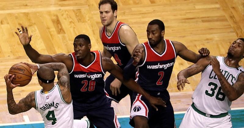 «Вашингтон» сравнял счет вплей-офф НБА, одолев «Бостон»