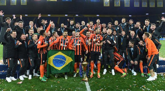 «Шахтер» в11-й раз стал обладателем Кубка Украины
