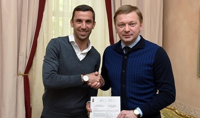 Дарио Срна продлил договор с«Шахтером» в собственный день рождения