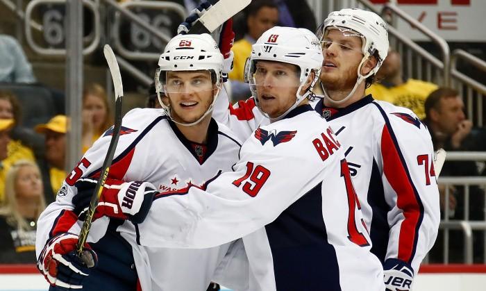 «Вашинтон» разгромил «Питтсбург» вматче плей-офф НХЛ