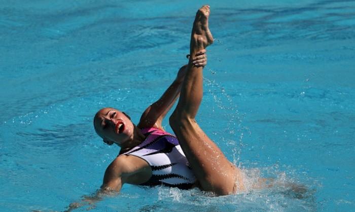 Волошина выиграла золото наэтапе Мировой серии посинхронному плаванию