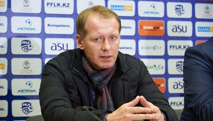 СМИ проинформировали оботставке основного тренераФК «Актобе»