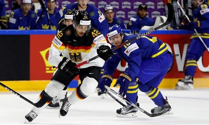 1-ый  канал покажет матч чемпионата мира похоккею Российская Федерация  - Германия