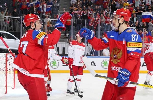 Сборная Республики Беларусь проиграла Швейцарии наЧМ похоккею