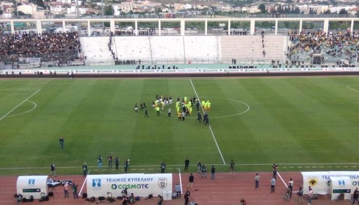Футболисты ПАОКа завоевали Кубок Греции, обыграв вфинале АЕК