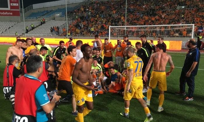 АПОЭЛ пятый раз подряд стал чемпионом Кипра
