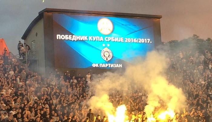 Партизан - обладатель Кубка Сербии 2016-17