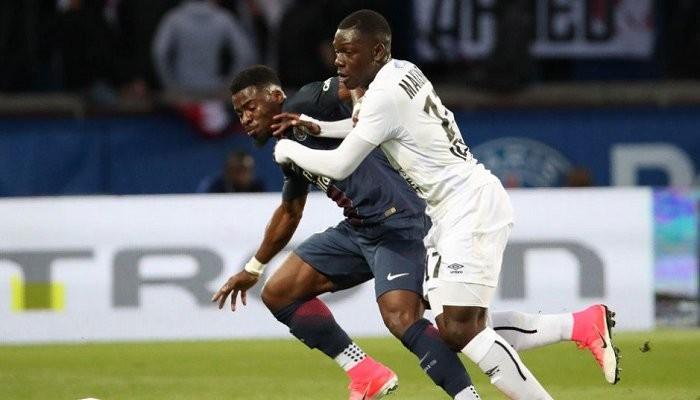 ПСЖ в последнем матче Лиги 1 упустил победу над Каном