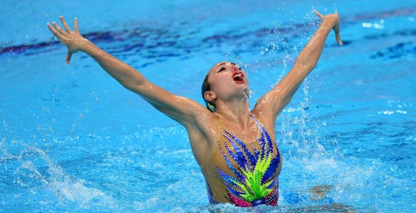Украинка Волошина выиграла «золото» насоревнованиях посинхронному плаванию World Series