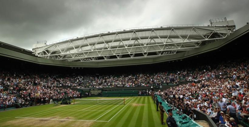 Зажегся легендарный теннисный клуб— Пожар встолице Англии