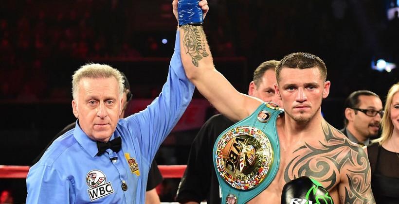 Украинец Гвоздик небудет боксировать самериканцем Смитом